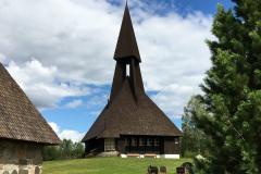 Gravberget kirke - et unikt kirkebygg