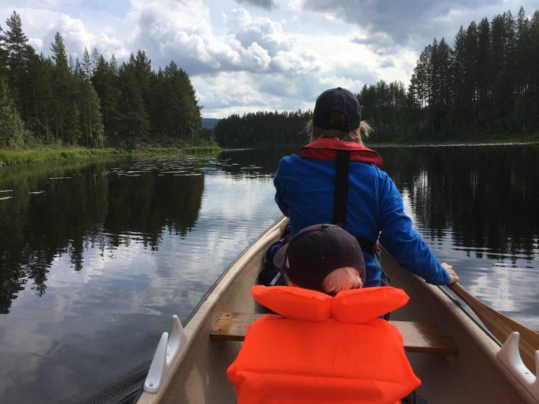 Padling på Kynna, Finnskogen